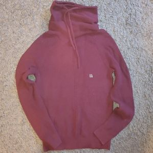 Small Mens Express Cowl Neck Sweater  NWT